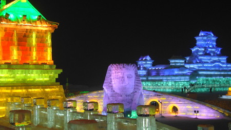 Harbin Snow And Ice Festival Sphinx