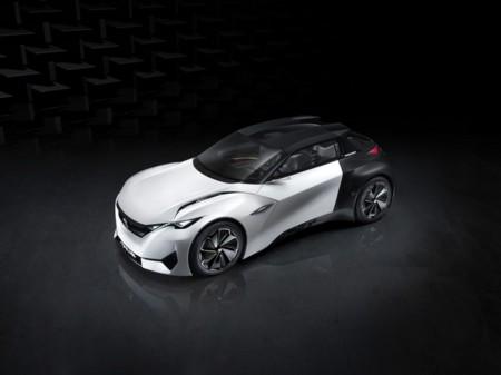 Peugeot Fractal, o así suena la música de lo eléctrico