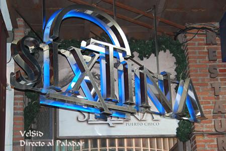 Restaurante Sixtina, Santander