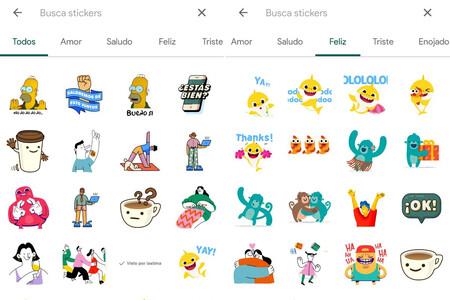WhatsApp añade un buscador de stickers y un nuevo paquete animado en su beta para Android