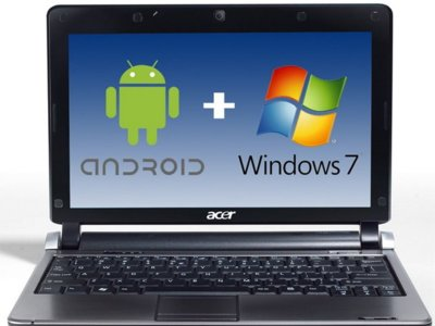 Acer: Android y Windows 7 convivirán en nuestros ultraportátiles de doble núcleo