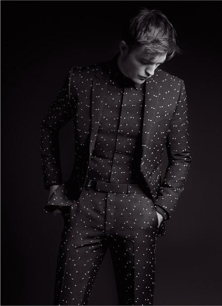 Campaña Dior Homme con Robert Pattinson