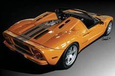 Ford GTX1 Roadster en el SEMA