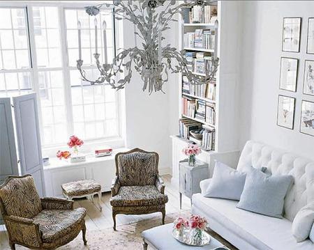Cambiar el estilo de una habitación con estampado animal