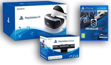 Sólo hoy, Playstation VR + Playstation Camera + DriveClub VR por 449 euros en eBay