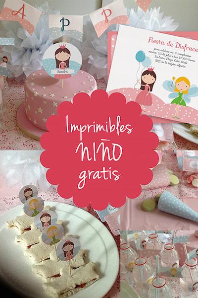 Imprimibles gratis para fiestas infantiles
