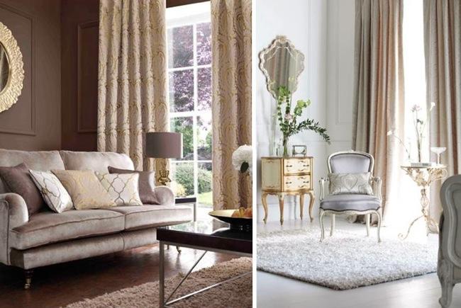 Inspiraci n barroca y tonos dorado y plateado en muebles y for Muebles y complementos