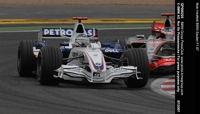 Buenísimos resultados para BMW Sauber... otra vez