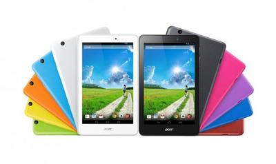 Acer Iconia One 8 y Iconia Tab 10