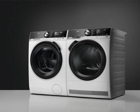 AEG presenta una lavadora y una secadora conectadas y sincronizadas para facilitar la colada en casa