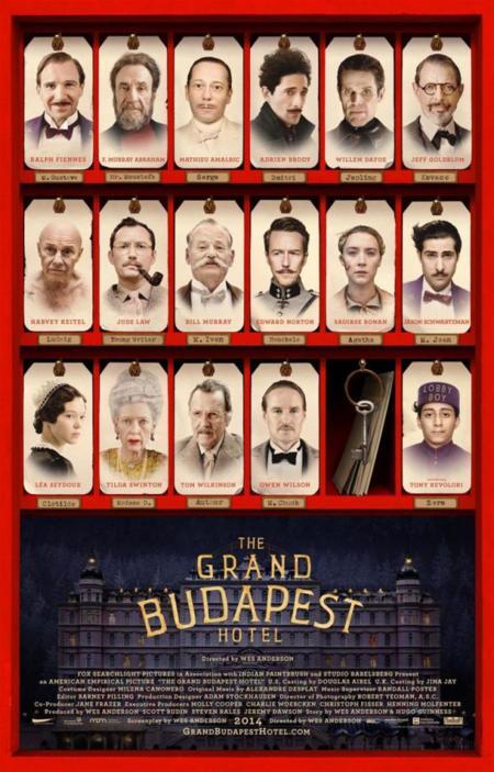 El gran Hotel Budapest de Wes Anderson