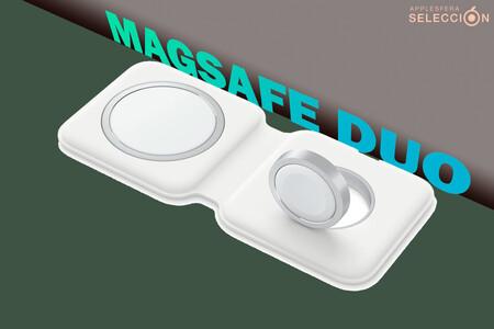 El cargador doble MagSafe vuelve a estar disponible en Amazon a 99 euros, su mínimo: recarga tu iPhone y Apple Watch a la vez