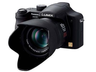 Lumix DMC-FZ7 con 6 megapixels