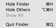 Añade la opción de Cerrar el Finder