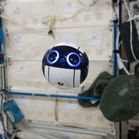 Este adorable dron esférico y su cámara son los ojos de la JAXA dentro de la Estación Espacial Internacional
