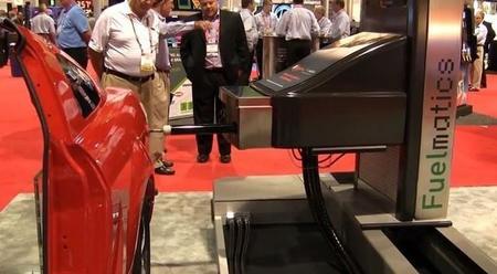 Sistema de llenado de combustible automático Fuelmatic (en vídeo)