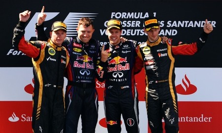 Sebastian Vettel, suma y sigue. Nueva victoria en el Gran Premio de Alemania