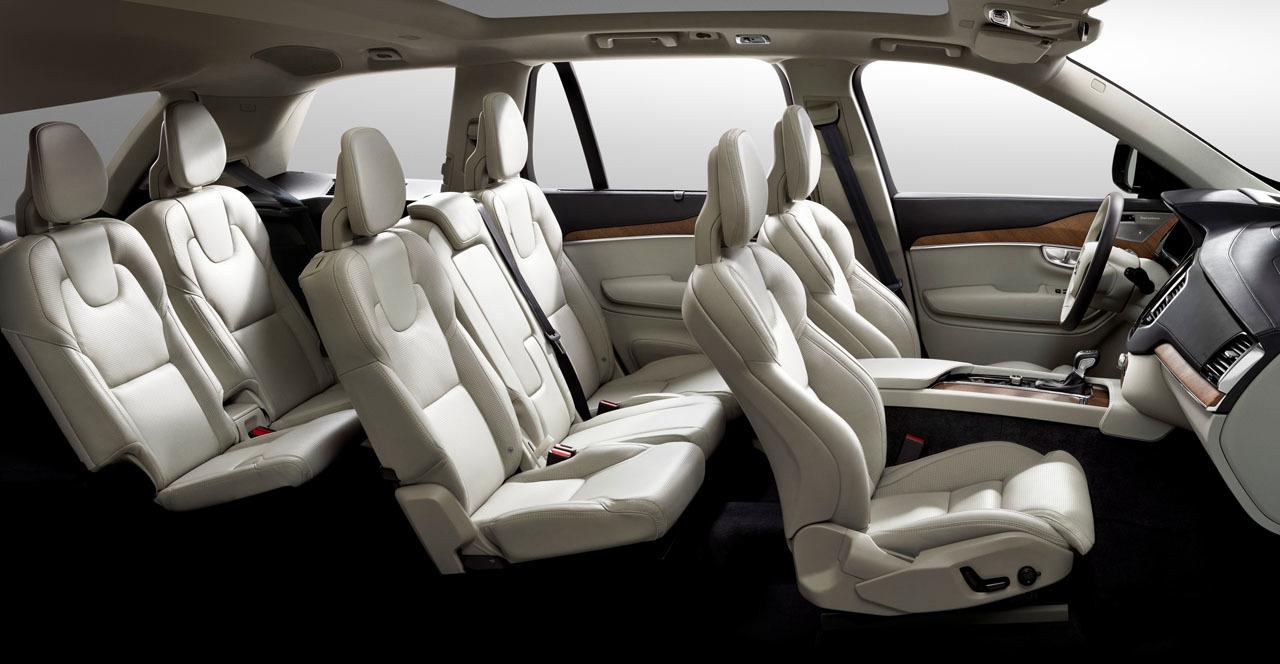 Volvo XC90, interior