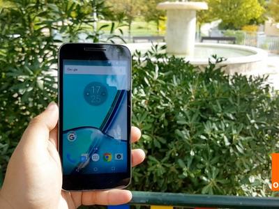 Moto G4 Play ya está disponible en Orange con pago a plazos