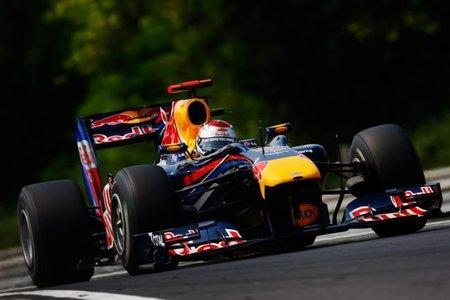 Rutina en la parrilla de salida en el GP de Hungría