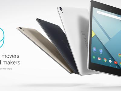 Nexus 9 es retirado de Google Store