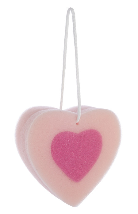 Kimball 2499501 Heart Washing Sponge Pink Grade Missing Eur1 50 Wk Missing