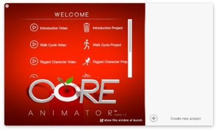 Core Animator, crea animaciones de forma visual y exporta luego a código