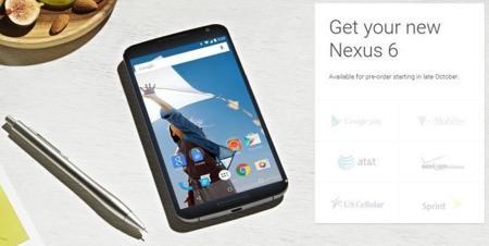 Nexus 6, el Nexus de los operadores