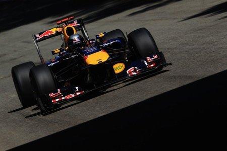 GP de Italia de Fórmula 1. Sebastian Vettel tuvo problemas con los frenos