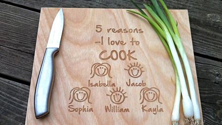 ¿Quieres una tabla de cortar personalizada? ¡Mira!
