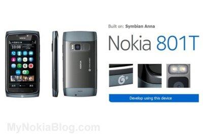 Nokia lleva Symbian Anna a China de la mano del Nokia 801T
