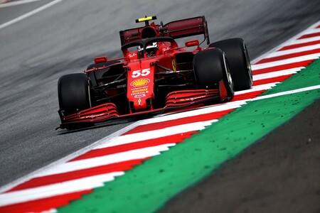 Sainz Estiria F1 2021