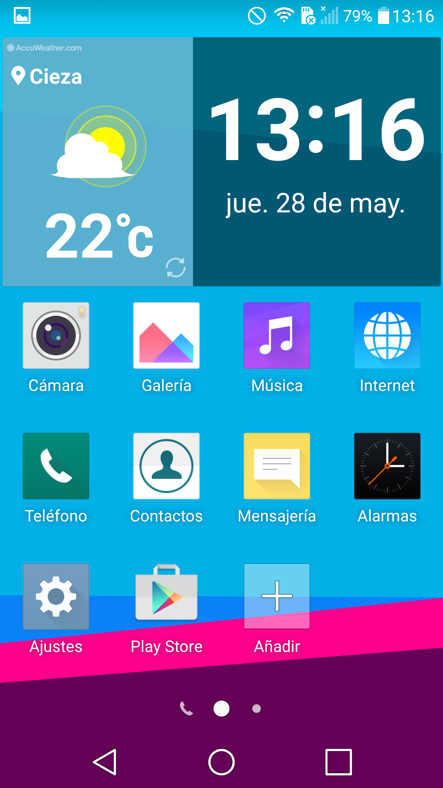 LG G4 interfaz