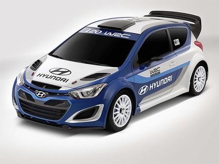Primer vídeo de la mula de desarrollo del Hyundai i20 WRC