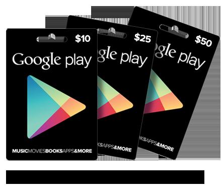 Google play dinero