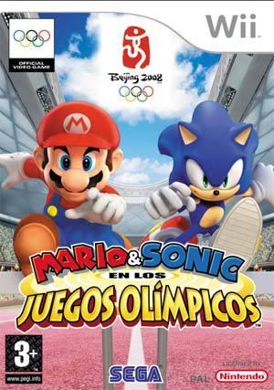 Carátula de 'Mario & Sonic en los Juegos Olímpicos'