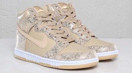 Nuevas Nike Dunk High: sigue la apuesta por el dorado