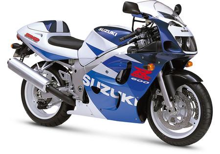 Suzuki Gsxr 600 1998