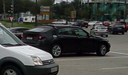 Un BMW misterioso circula por Valencia