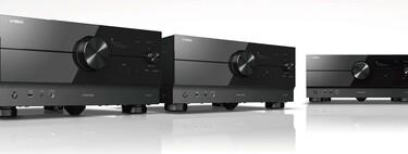Yamaha anuncia tres nuevos receptores AV: con HDMI 2.1, pueden reproducir 4K a 120 fps y 8K a 60 fps