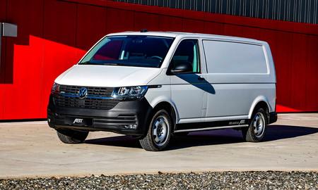 La Volkswagen Transporter eléctrica de ABT ya está a la venta en algunos mercados europeos, desde 459 euros (al mes)