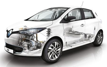 Renault ZOE imagen transparente técnica 02