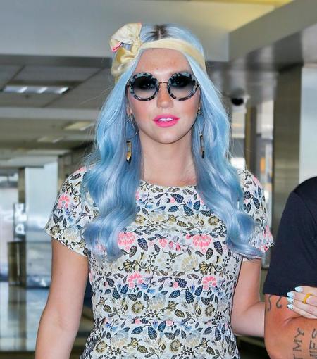 Las celebrities apuestan fuertemente por el azul en sus cabellos