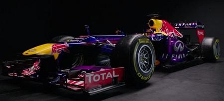Apareció la bestia: destapado el nuevo Red Bull RB9