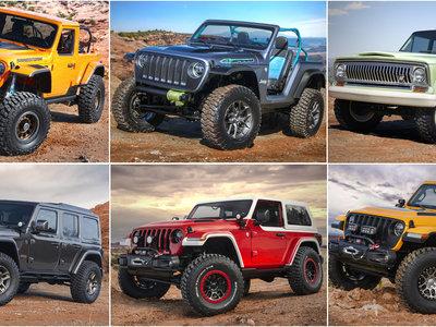 Así son los 7 curiosos prototipos de Jeep para el Moab Easter Jeep Safari de este año