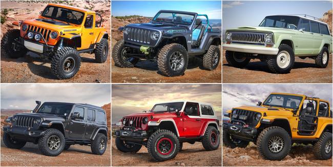 Prototipos Jeep Moab Easter Jeep Safari 2018