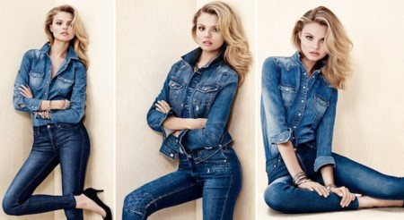 hm total look denim