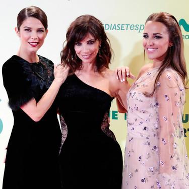 """Los looks de Paula Echevarría, Juana Acosta y Maribel Verdú en la premiere de """"Ola de crímenes"""""""