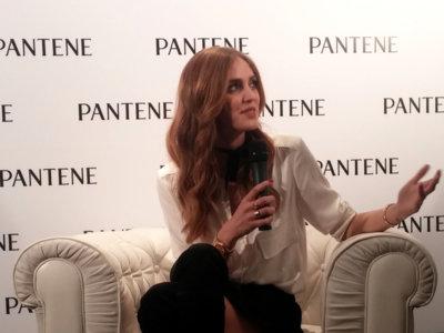 Asistimos a la presentación de la blogger Chiara Ferragni como nueva embajadora global de Pantene