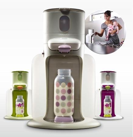 Bib'Expresso, un nuevo electrodoméstico para preparar biberones
